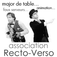 association recto verso - animation major de table
